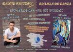 Flyer para masterclass de danzas urbanas