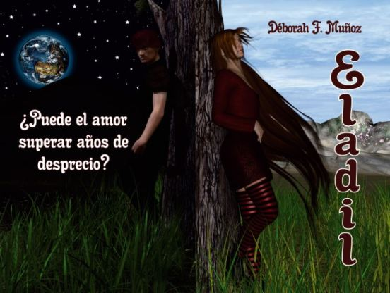 novela corta ilustrada romántica paranormal Eladil, de la escritora Déborah F. Muñoz