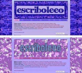Diseños de blog de reseñas