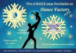 Flyer navideño para escuela de danza