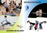 Flyer de escuela de danza y pilates (cara b)