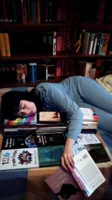 mi foto seleccionada para el anuario de Libros y literatura
