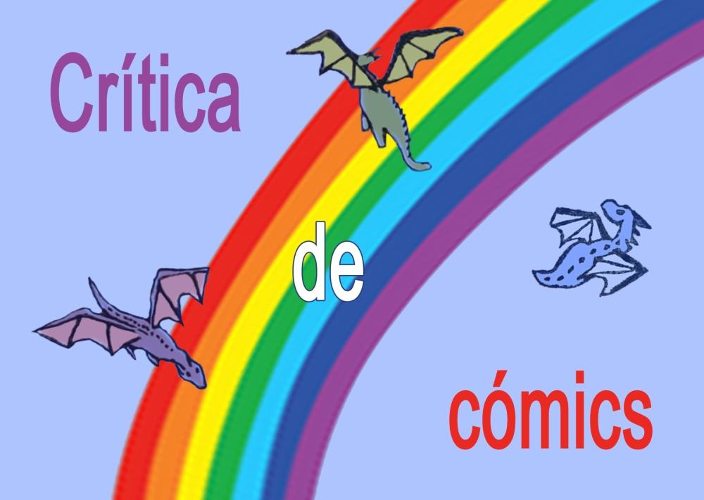 Cabecera de Crítica de cómic de la bloguera Déborah F. Muñoz