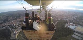 Aventura en globo en Segovia de la bloguera Déborah F. Muñoz