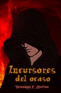 incursores del ocaso-portada de novela romántica paranormal ciberpunk