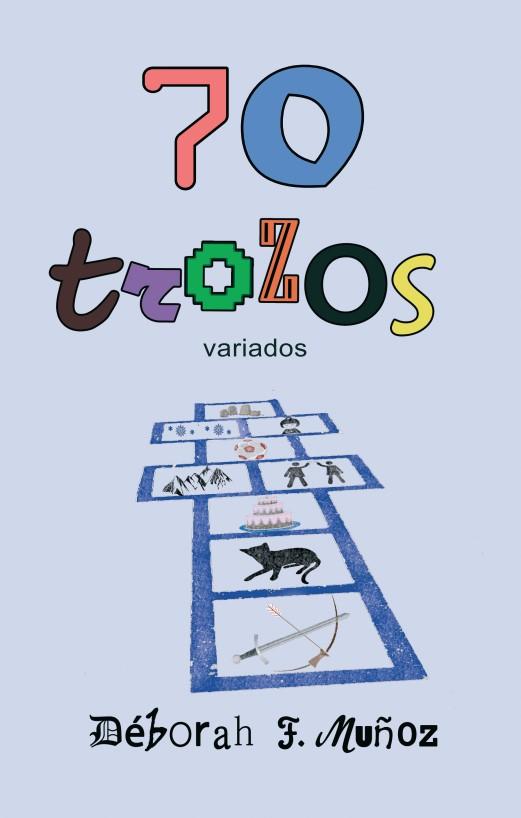 Portada de la antología de relatos 70 trozos variados