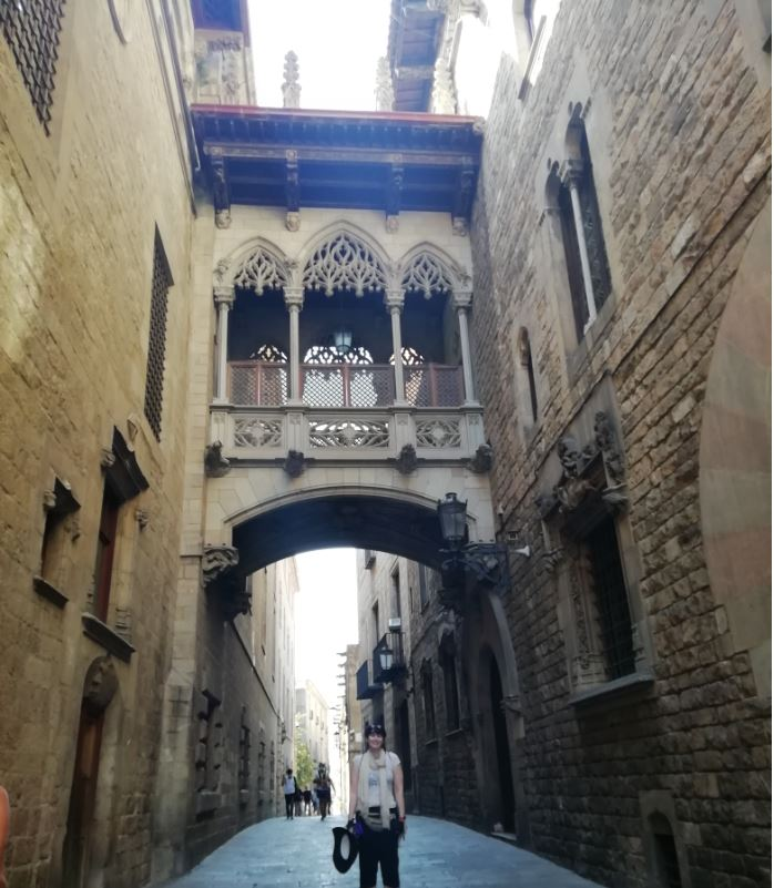 Déborah F Muñoz en Barcelona